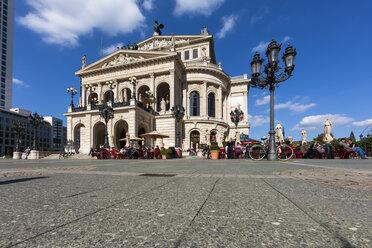 Germany, Hesse, Frankfurt, view to Old Opera (Alte Oper) at Opera square - AM000981