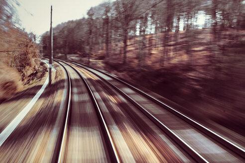 Austria, Westbahn, rails - WVF000394