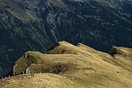 Switzerland, Berner Oberland, Maennlichen, rock formation - ELF000554