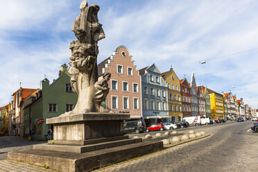 Germany, Bavaria, Landshut, Old town - AMF000997