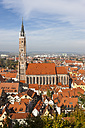 Germany, Bavaria, Landshut, Cityscape with St. Martin's Church - AM001001