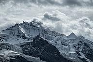 Switzerland, Berner Oberland, Jungfrau, below Schwarzmoench and Silberhorn - ELF000571