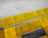 Geometrical pattern on pavement - TLF000716