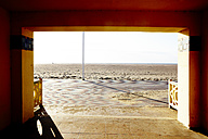 France, Normandy, Deauville, Boardwalk - TLF000733