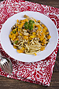 Fried noodles with bell pepper and mushrooms - ODF000594