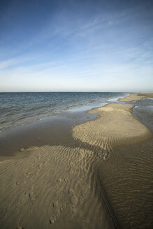 Holland, Westenschouwen, coast, North Sea, low tide - MYF000039