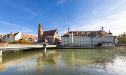 Germany, Bavaria, Landshut, Heilig-Geist-Spital and church - AMF001023