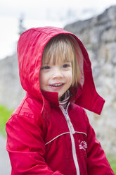 Girl with hooded anorak - LV000278