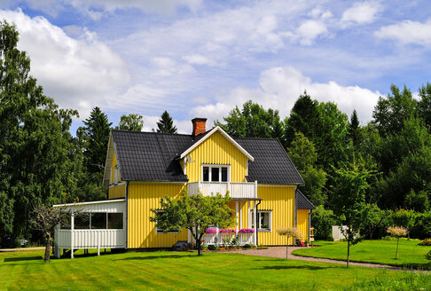 Sweden, Smaland, Kalmar laen, Vimmerby, residential house - BT000013