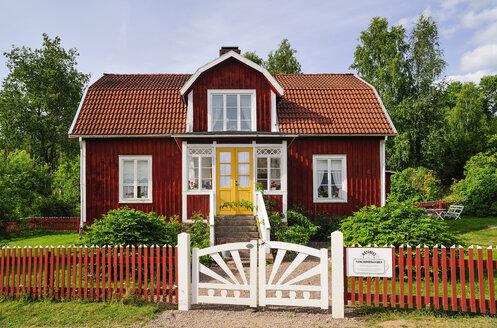 Sweden, Smaland, Gibberyd, Katthult farm, shooting location Astrid Lindgren films Emil of Loenneberga - BT000060
