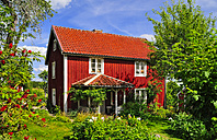 Sweden, Smaland, Kalmar Iaen, Vimmerby, Sevedstorp, shooting location for Astrid Lindgren films The Six Bullerby Children - BT000068