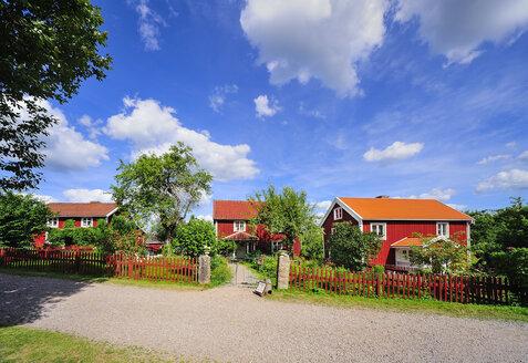 Sweden, Smaland, Kalmar Iaen, Vimmerby, Sevedstorp, shooting location for Astrid Lindgren films The Six Bullerby Children - BT000074