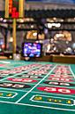 USA, Nevada, Las Vegas, Close up of roulette gambling table - ABA001044