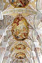 Germany, Bavaria, Munich, Heilig-Geist-Kirche, ceiling painting - MIZ000418