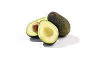 Whole and sliced avocado (Persea Americana) - SRSF000257