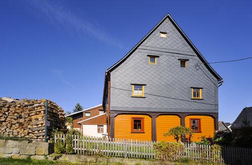 Germany, Saxony, Hinterhermsdorf, Historical Upper Lusatian house - BT000199