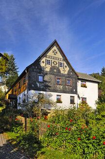 Germany, Saxony, Sebnitz, district Saupsdorf, Residential house - BT000187