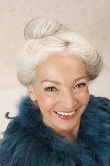Germany, Dusseldorf, Senior woman , portrait - UKF000243