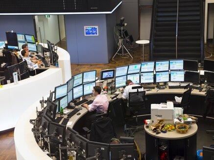 Germany, Hesse, Interior of the Frankfurt Stock Exchange - AM001105