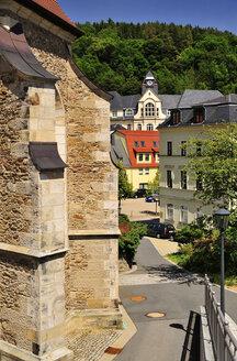 Germany, Saxony, Glashuette, church St. Wolgang - BTF000288