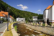 Germany, Saxony, Glashuette, mueglitz river - BTF000285