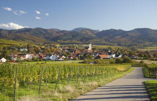 Germany, Baden-Wuerttemberg, Kirchhofen in Markgraflerland - DHL000157