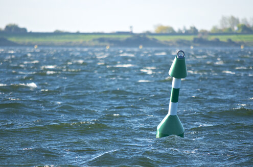 Netherlands, Ouddorp, buoy on