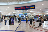 Oman, Muscat, Duty Free Shop at airport - AM001171