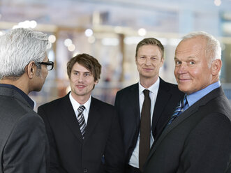Portrait of four business men - STKF000515