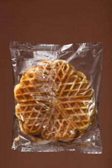 Waffles in transparent plastic wrapping - WSF000039