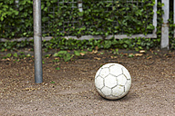 Ball on soccer pitch - STKF000656