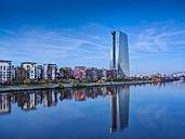 Germany, Hesse, Frankfurt, New European Central Bank building - AMF001216