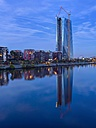 Germany, Hesse, Frankfurt, New European Central Bank building - AMF001184