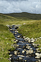 UK, Wales, Mountain stream in Snowdonia National Park - ELF000613
