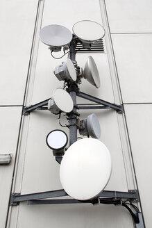 Germany, Berlin, Satellite dishes - JM000264