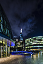 UK, London, view to city hall and The Shard - DISF000171