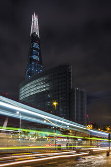 UK, London, London, view to The Shard at night - DISF000165