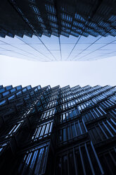 UK, London, worm's-eye view of parts of two facades - DIS000155
