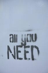 Germany, Constanze, graffiti all you need - AXF000537