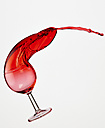 Red wine in wine glass - AKF000248