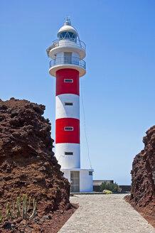 Spain, Canary Islands, Tenerife, Punta de Teno, Faro de Punta de Teno, Lighthouse - UMF000690