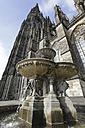 Germany, North Rine-Westphalia, Cologne, view to St.Peter's Fountain and Cologne Cathedral - JAT000492