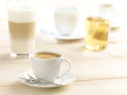 Variety of hot beverages - SRSF000412