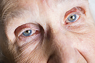 Part of face of aged woman - ABAF001073