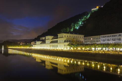 Germany, Rhineland-Palatinate, Bad Ems, Cure and helth resort building - NKF000039
