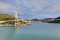 Croatia, Dubrovnik, View of Franio Tudjman Bridge - AMF001338