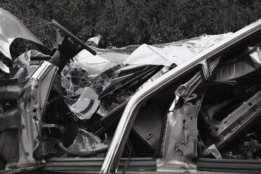 Leftovers of car wreck - AXF000556