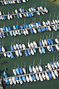 Switzerland, Thurgau, Aerial view of Romanshorn harbour - SH001041