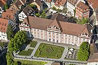 Germany, Baden-Wurttemberg, Meersburg, Aerial view of New Castle - SH001092