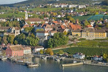Germany, Baden-Wurttemberg, Meersburg, Aerial view - SH001079